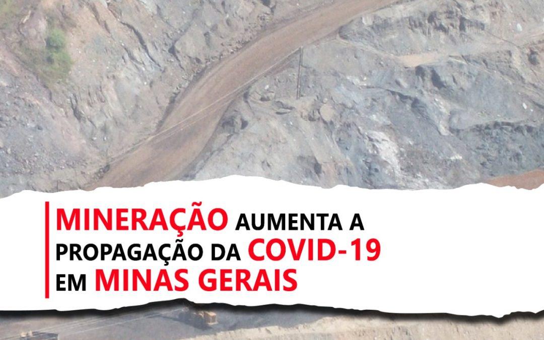 Coronavírus avança em municípios com intensa atividade minerária. Veja balanço de MG