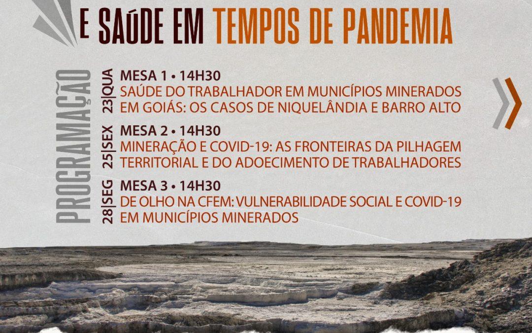 Seminário aborda aspectos do setor da mineração na região de Goiás e suas implicações em tempos de Covid-19