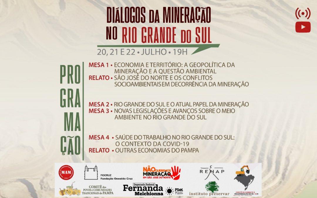 Contradições do setor mineral são abordadas em 'Diálogos da Mineração no Rio Grande do Sul'